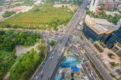 Движение в Таиланде Стоковое Фото