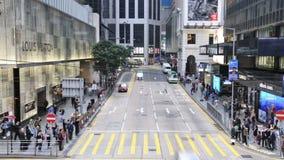 Движение в центре города видеоматериал