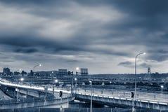 движение городского пейзажа Стоковое Изображение