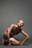 движение девушки Стоковое фото RF