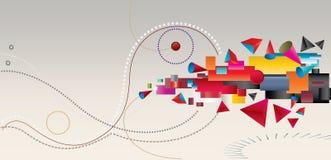 движение дела иллюстрация вектора