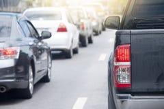 движение дороги варенья автомобилей стоковые изображения rf
