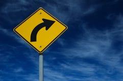 движение знака Стоковые Изображения