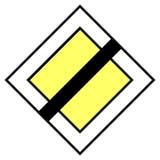 движение знака Стоковое фото RF