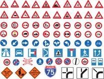 движение знаков Стоковые Изображения RF