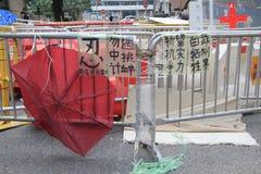 Движение зонтика Адмиралитейства в Гонконге Стоковые Фотографии RF