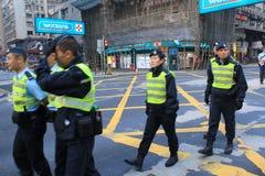 Движение зонтика в Гонконге Стоковые Фото