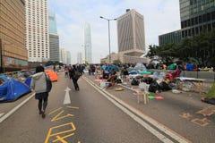 Движение зонтика в Гонконге Стоковая Фотография RF