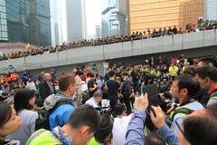 Движение зонтика в Гонконге Стоковое Фото