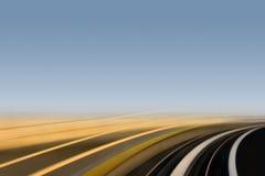движение кривого быстрое Стоковые Фото