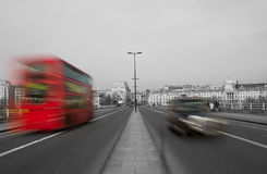 Движение Лондона Стоковое фото RF