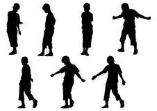 движение мальчика Стоковые Фото