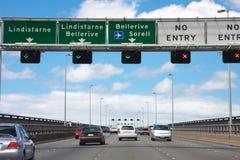 движение моста tasman Стоковые Изображения RF