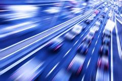 Движение на скоростном шоссе Стоковые Изображения RF