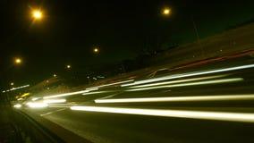 Движение на скоростном шоссе сток-видео