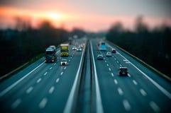 Движение на шоссе Стоковые Фотографии RF