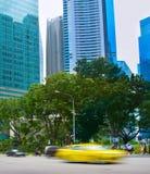 Движение нерезкости быстрого движения Сингапур Стоковое Изображение RF