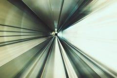 Движение нерезкости и абстрактное влияние предпосылки Стоковая Фотография