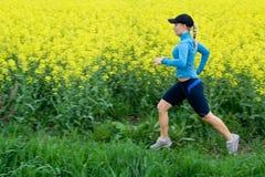 движение нерезкости outdoors женщина Стоковое фото RF