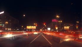 движение ночи Стоковое Изображение