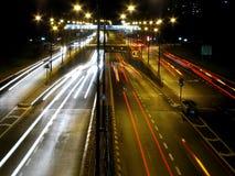 движение ночи Стоковая Фотография RF