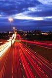 движение ночи стоковые изображения rf