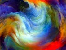 Движение обрабатывая цвета стоковое фото
