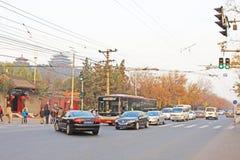 Движение Пекина стоковые фото