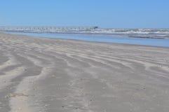 Движение пляжа Стоковое Фото