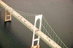 движение подвеса моста Стоковое Изображение
