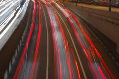 движение светов Стоковая Фотография