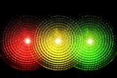 движение светов Стоковые Фото