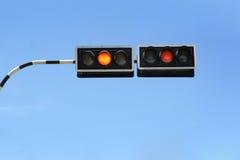 движение сигнала Стоковое Фото