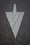 движение символа дороги стрелки Стоковые Фото