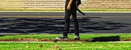 Движение скейтборда Стоковая Фотография RF