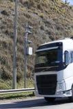 движение скорости радиолокатора полиций хайвея камеры Полицейский радар Стоковые Изображения RF