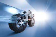 Движение скорости робота Стоковое Изображение RF