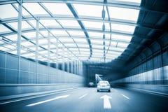 Движение скоростной дороги города Стоковое Фото