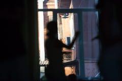 Движение танцоров стоковое изображение rf