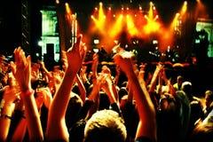движение толпы нерезкости Стоковая Фотография