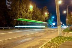 Движение шины стоковое фото