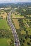 движение шоссе затора Стоковое Изображение RF