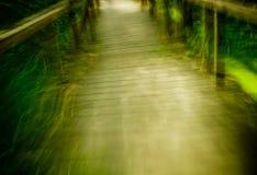 движение footbridge Стоковое Фото