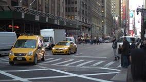 Движение NYC (3 из 11) сток-видео