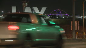 Движение Timelapse LAX видеоматериал