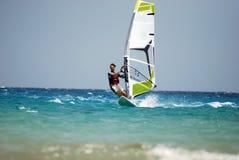 двиньте windsurfing Стоковое фото RF