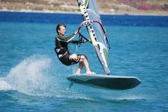 двиньте windsurfing Стоковое Фото