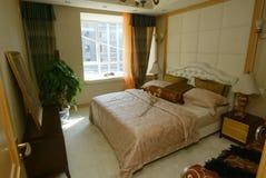 двойная кровать Стоковые Фото