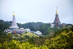 Двойная пагода Стоковое Фото
