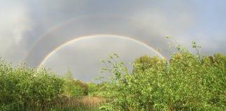Двойная радуга! Стоковая Фотография RF